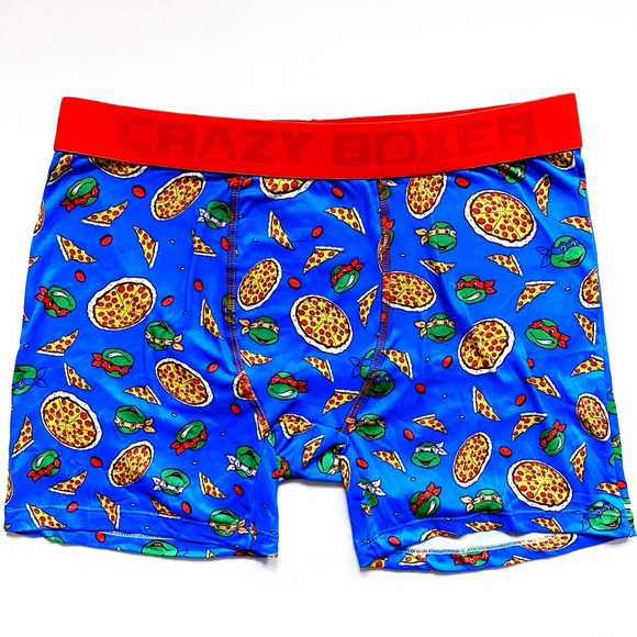Boys 3pc TMNT Boxer Briefs Teenage Mutant Ninja Turtles Boxer Shorts Set